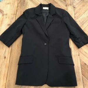 Elizabeth & James black blazer